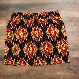 Kensie Skirts - Kensie Pieces brown/red mini skirt